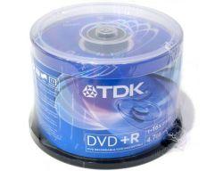 media dvd+r tdk 4g7 16x cake50
