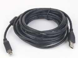 cable usb 2 ab ccf-usb2-ambm-15 5m w/ferrite