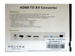 adapter converter hdmi-rca espada edh14