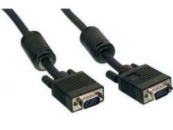 cable vga cc-ppvga-10m-b 15m-15m 10m w-ferrite black