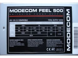 discount ps modecom feel 500w used