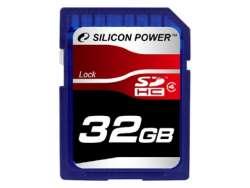 flash sdhc 32g class4 silicon power sp032gbsdh004v10