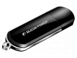 usbdisk silicon power luxmini 322 64gb black