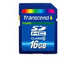 flash sdhc 16g class6 transcend ts16gsdhc6