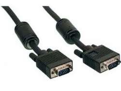 cable vga cc-ppvga-10-b 15m-15m 3m w-ferrite black