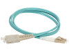(б/у) Fibre optic patch cord OM3 LC-SC 5m