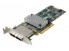 (б/у) LSI-9280-8e 2*external SFF-8088 (LSI2108 chip, SAS/SATA 6Gb/s, PCIe 2.0 x8, 512Mb cache)