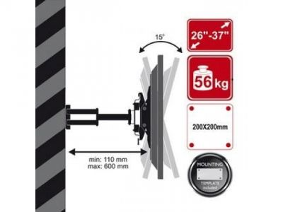 other holder arm tv-lcd-06809 26-37 56kg