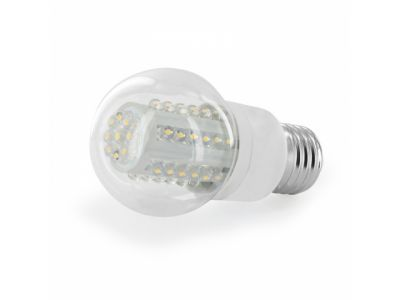 light lamp whitenergy 07552 led b50 45led e27 2w3 6000k