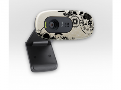 webcam logitech quickcam c270hd 960-000915 ink gears