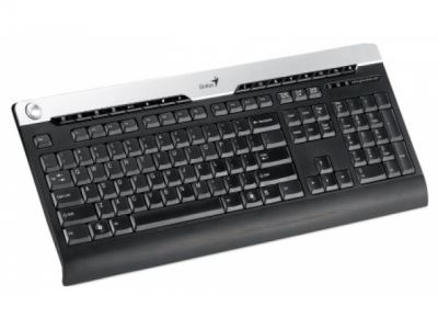 kbd genius slim star 320 black ps