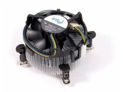 cooler intel original s-1155 aluminium
