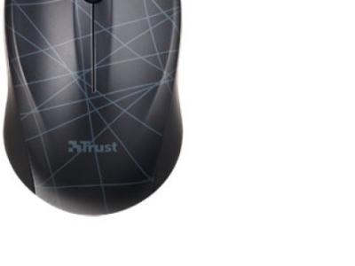 ms trust vivy wireless mini mouse black-lines 18248