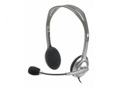 headphone logitech stereo headset h110