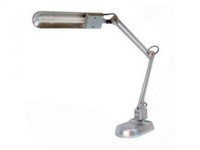 light table-lamp camelion kd-017a+c silver