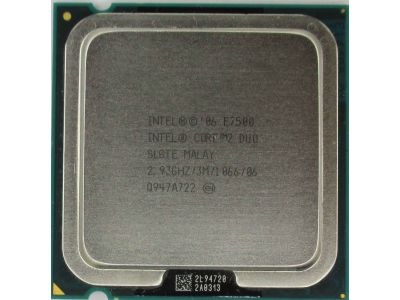 cpu s-775 core2duo-e7500 oem