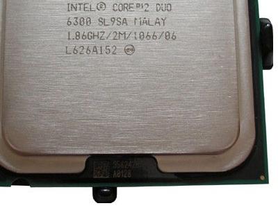 discount cpu s-775 core2duo-e6300 oem used
