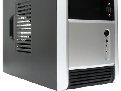 case inwin emr006 rb-s450hq7 black-silver