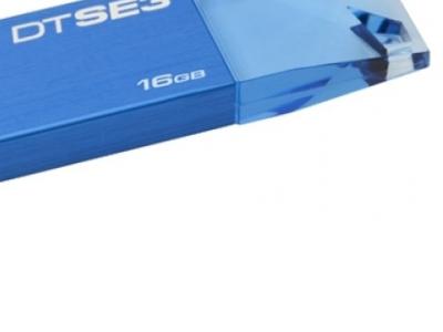 usbdisk kingston 16g dtse3b blue