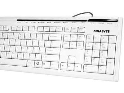 kbd gigabyte gk-k6150 white