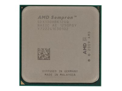 cpu s-am3 sempron 130 oem