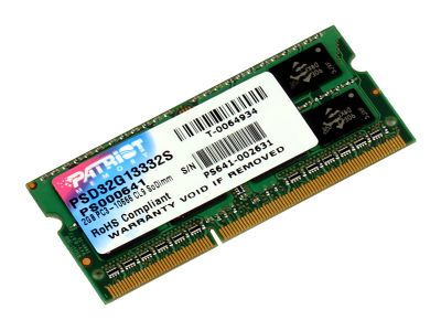 nbram ddr3 2g 1333 patriot