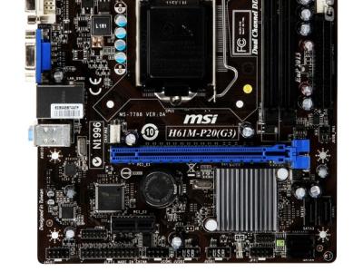 mb msi h61m-p20-g3