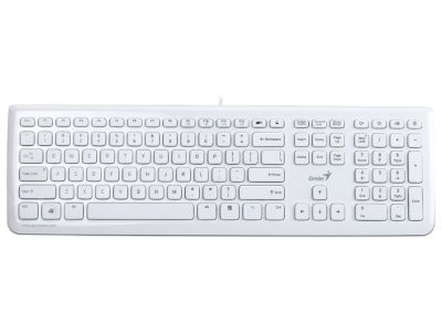 kbd genius slim star i220 white usb