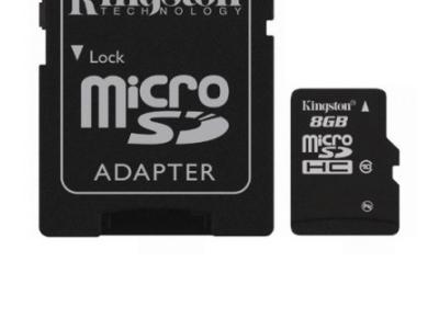 flash microsdhc 8g class10 kingston sdc10-8gb