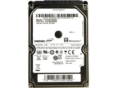 hddnb seagate 320 st320lm001
