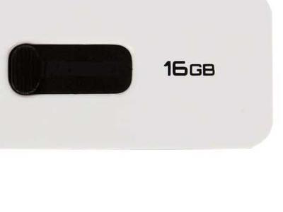 usbdisk qumo slider-01 16g white-black usb3-0