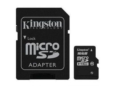 flash microsdhc 16g class10 kingston sdc10/16g