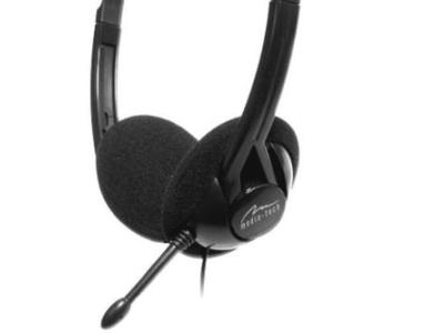 headphone media-tech mt3541 ursa+microphone