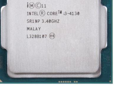 cpu s-1150 core-i3-4130 oem