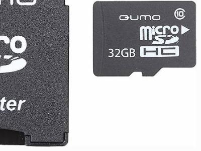 flash microsdhc 32g class10 uhs-1 qumo qm32gmicsdhc10u1