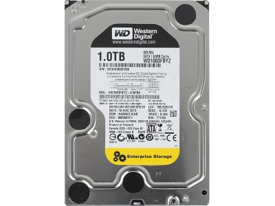hdd wd 1000 wd1003fbyz sata-iii server