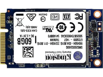 ssd kingston 60 sms200s3-60g msata