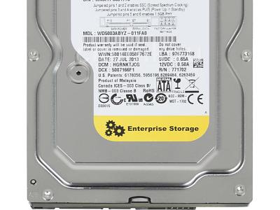 hdd wd 500 wd5003abyz sataiii server