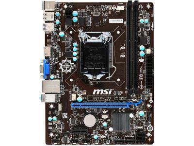 mb msi h81m-e33