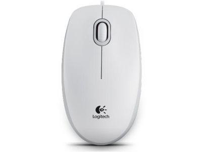 ms logitech b100 white usb oem 910-003360