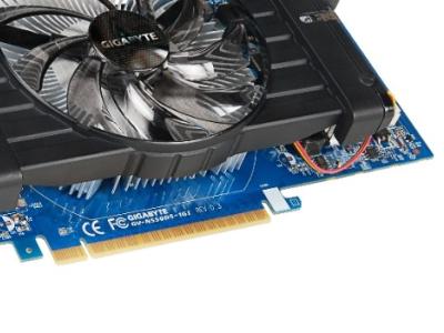 discount vga gigabyte pci-e gv-n550d5-1gi 1024ddr5 192bit oem used