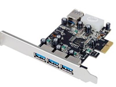 adapter stlab u750 pci-e usb3 3+1port