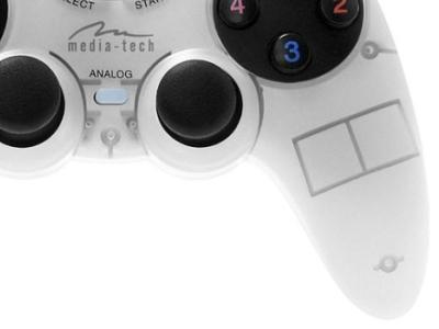 discount ms gamepad media-tech mt1507 usb white used
