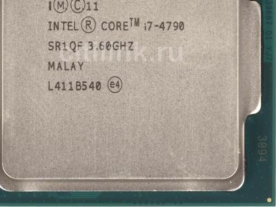 cpu s-1150 core-i7-4790 oem