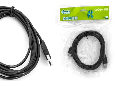 cable usb 2 aa kreolz cue-18 1m8