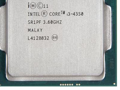 cpu s-1150 core-i3-4350 oem