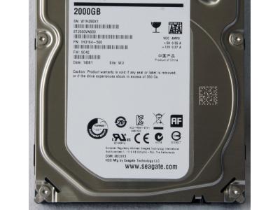 serverparts hdd seagate 2000 st2000vn000 sata-iii