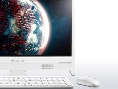 monoblock lenovo c260 57330940 j1800 4gb 500gb white
