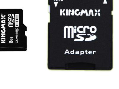 flash microsdhc 16g class10 kingmax+adapter