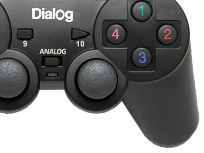 discount ms gamepad dialog gp-a11 likenew